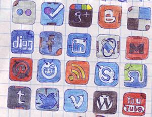 Communicate through social media