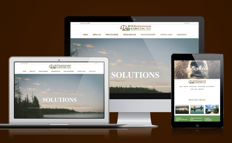 BCM Environmental Land Law website